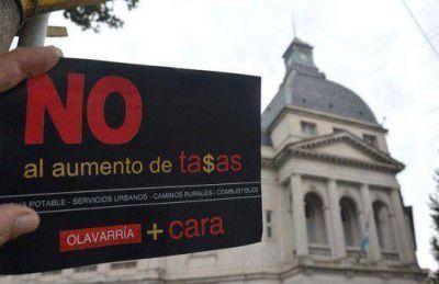 El PJ local lanzó una campaña denunciando al Ejecutivo de un posible aumento de tasas