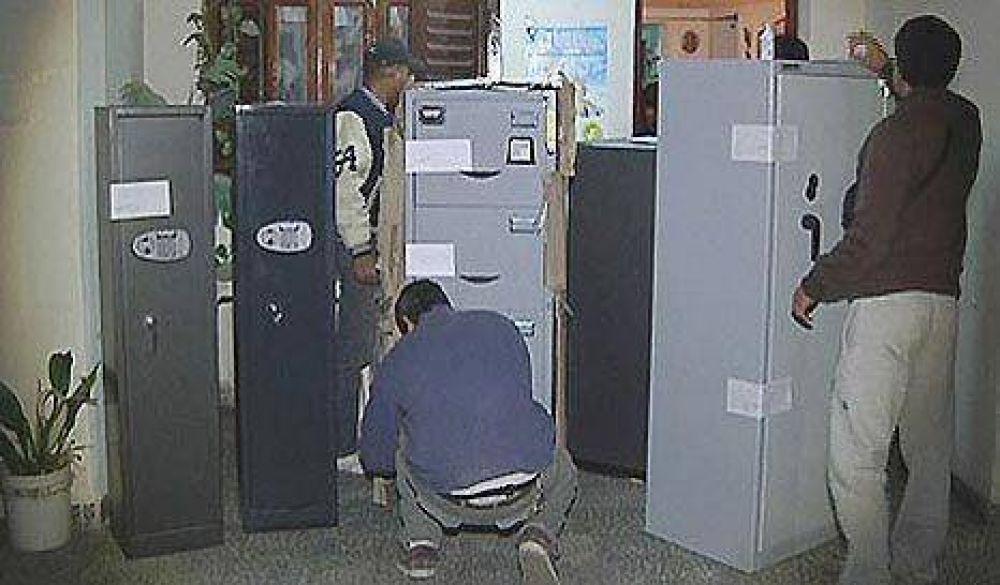 Alegre tiene tres de las ocho cajas fuerte vacías