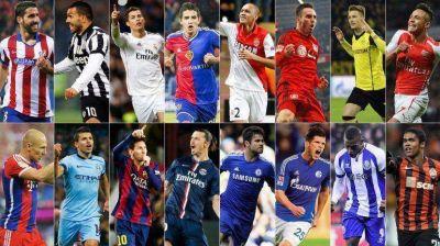 Los diecis�is protagonistas de los octavos de final de la Champions League