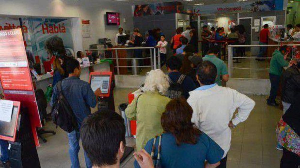 Hoy y mañana paran los bancos Nación, Chubut y Credicoop