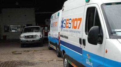 Reclamaron por un chofer del 107 y por la falta de ambulancias