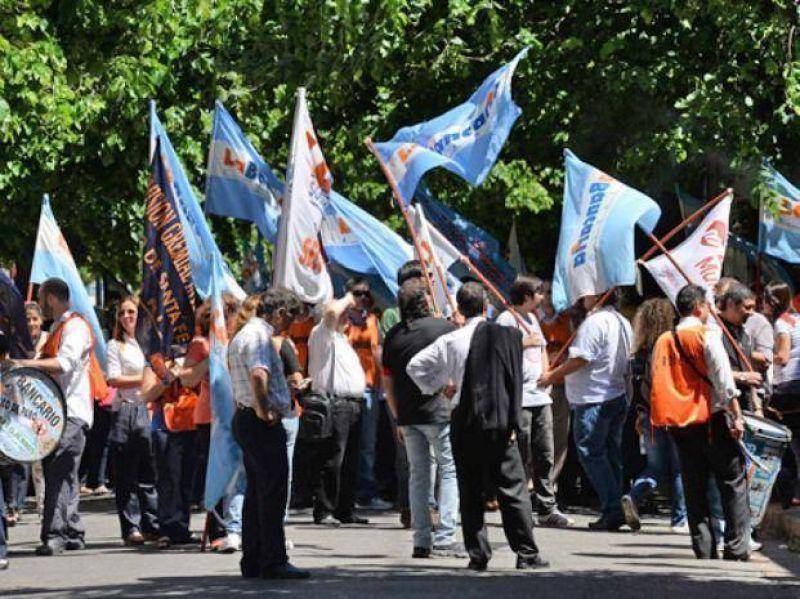 El paro de los bancarios afecta en Rosario al Nación y al Bancor