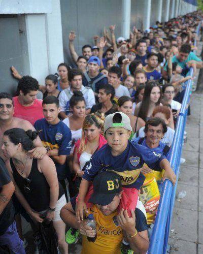 Todo listo en La Bombonera para el Día Mundial del Hincha de Boca