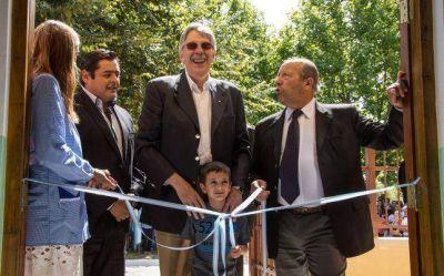 Se inauguró el SUM del jardín 901 de Vidal