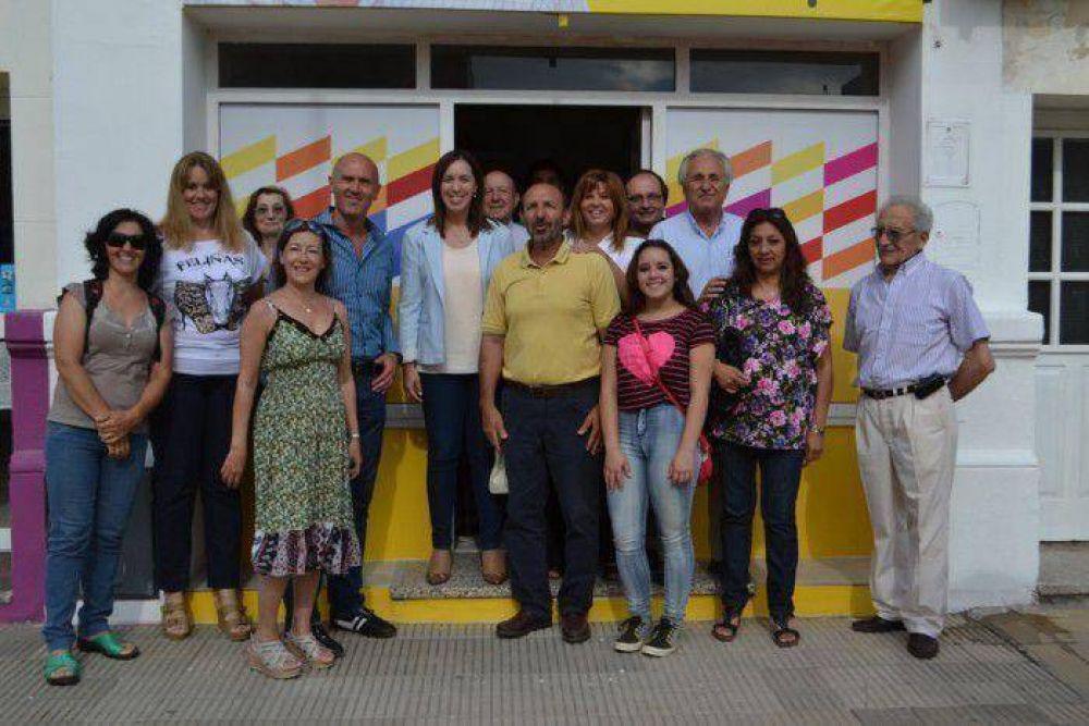 La Vice Jefa de Gobierno Porteño visitó Tornquist