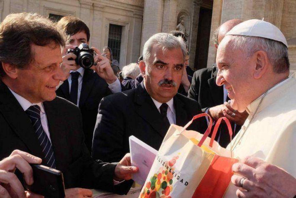 El Papa Francisco envió su bendición a las familias de Mar del Plata y Batán