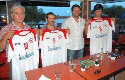 Grandes y chicos de Gualeguaychú y Atlanta jugarán a beneficio del Hogar de Ancianos