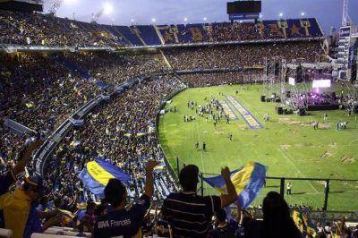 En la Bombonera, la fiesta se convirtió en reclamo contra Daniel Angelici