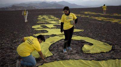 Militantes de Greenpeace no irán a la cárcel por los daños en Nasca