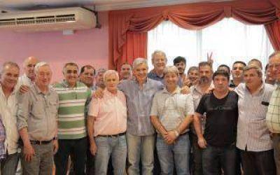 Elecciones 2015: Julián Domínguez recibió el apoyo de Caló en Zárate