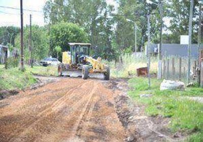 Mejoramiento en las calles del barrio La Rufinita