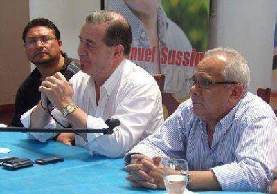 Sussini será el gran aliado de Luis Barrionuevo en Corrientes