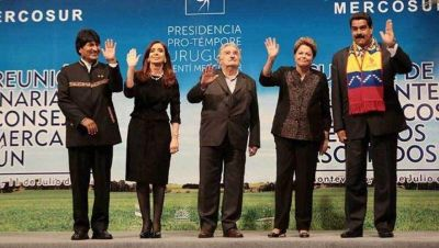 Entre R�os recibir� esta semana a la Cumbre de Presidentes del Mercosur
