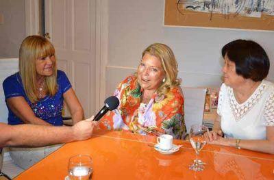 Lilita Carrió manifestó su apoyo para que Aída Ayala sea gobernadora
