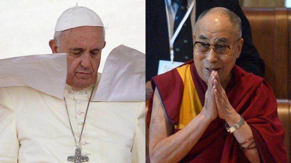 El papa Francisco no recibió al Dalai Lama para evitar tensiones con China