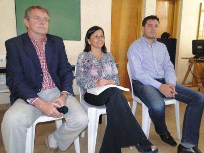 Tareas conjuntas para el mejoramiento de las 18 hectáreas