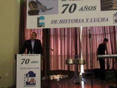 """SUPeH Ensenada festejó su 70º aniversario: """"Nuestro ADN es el trabajo"""", dijo Garaza"""