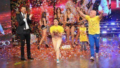 Anita y el Bicho G�mez, campeones del Bailando por un Sue�o