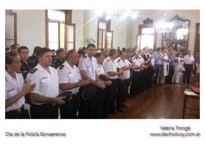 Acto y reconocimientos por el Día de la Policía Bonaerense