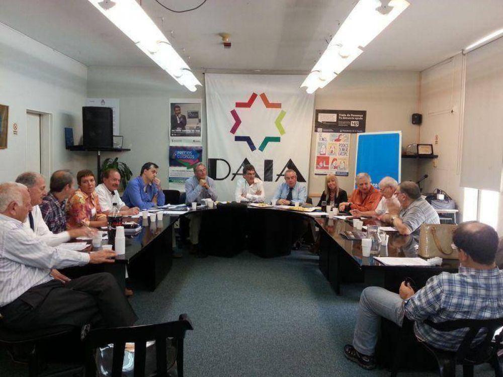 Se reunió el Consejo Federal de la DAIA con la participación de la Embajada de Israel y el Museo del Holocausto