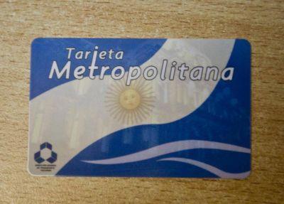 """Sigue dilatándose el lanzamiento de la """"Tarjeta Metropolitana"""""""