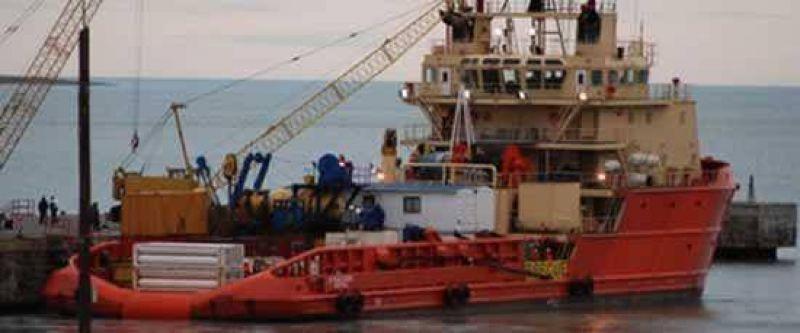 Rescatan el oro del naufragio del Polar Mist