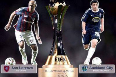 San Lorenzo comienza su sueño en Marruecos ante el Auckland City