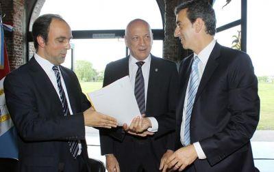 Florencio Randazzo anunci� la construcci�n del Metrobus en Av. Blas Parera