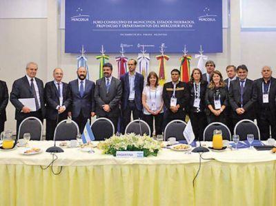Rosario quedó a cargo de un espacio clave para municipios del Mercosur