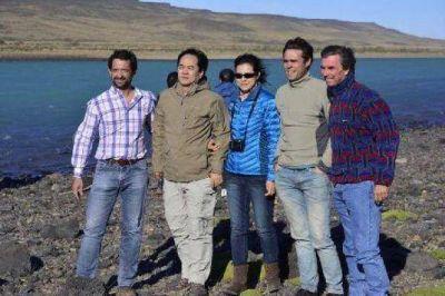 Bark y el embajador chino visitaron el lugar donde se emplazar�n las represas