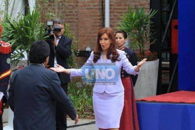 Cristina habl� de avanzar hacia una s�lida integraci�n regional
