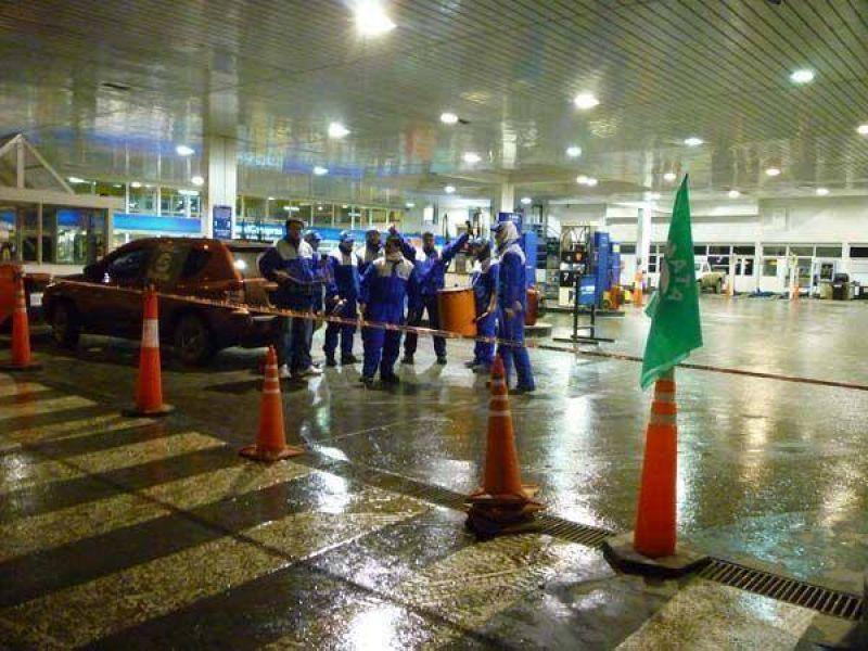 Las tres estaciones de Autosur est�n cerradas por medida de fuerza