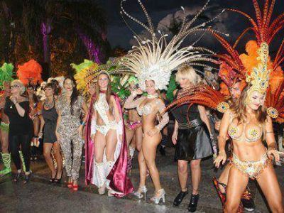 Lanzaron en Buenos Aires el carnaval de Gualeguaychú: las fotos