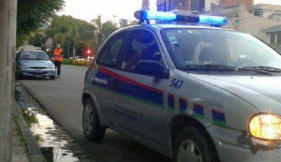 Realizaron controles vehiculares en San Martín y Estrada