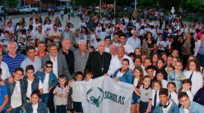 Scholas lleg� a la provincia de C�rdoba