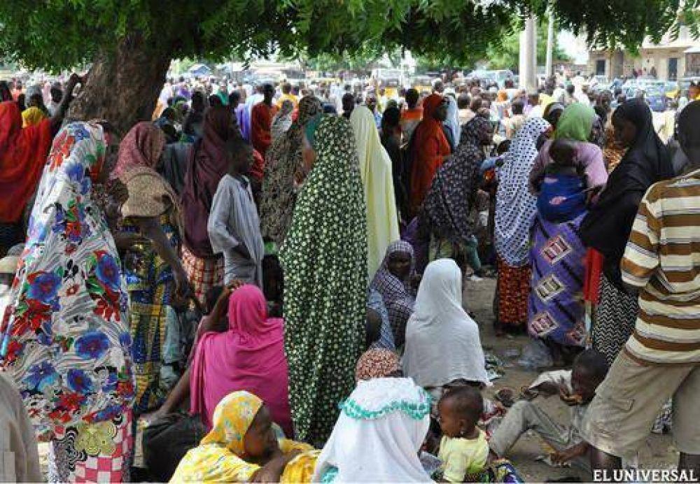 Más de 5.000 desplazados huyen de Boko Haram y se refugian en parroquias