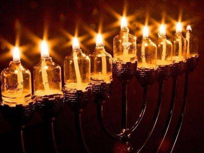 Los judíos celebran la janucá