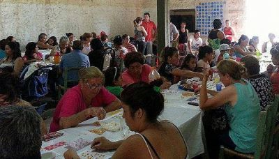 Mauricio Sat realizó diversas actividades solidarias