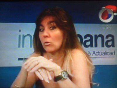 María Losada cargó contra todos