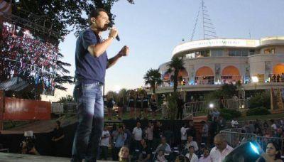 Con shows al aire libre, larg� el verano en Carlos Paz