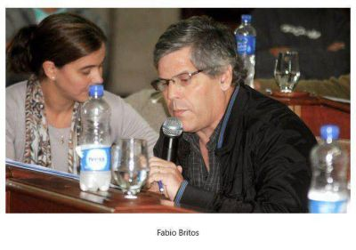 Britos acus� a Pittelli y Franetovich por