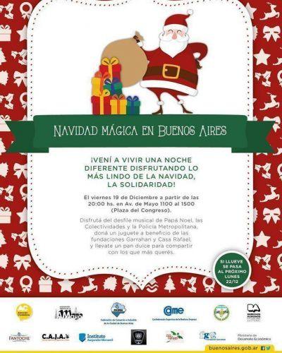 Navidad Mágica y solidaria: Traé Juguetes y te regalamos un pan dulce