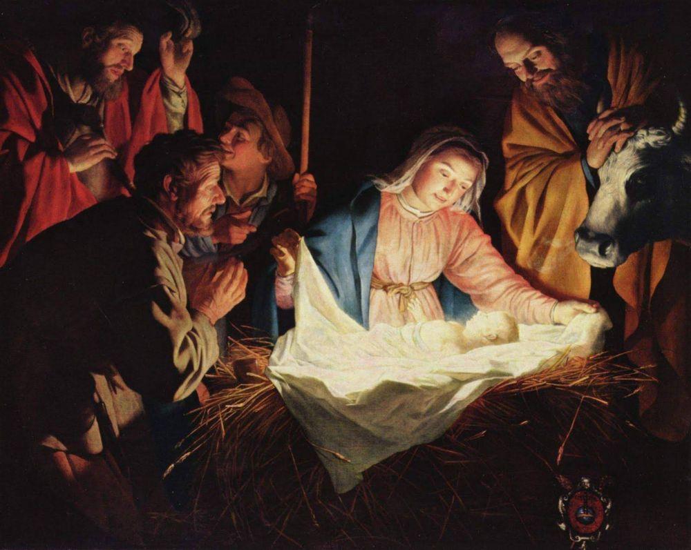 Una navidad en el regazo de María...