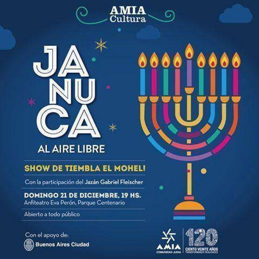 AMIA celebrará Jánuca este domingo en Parque Centenario