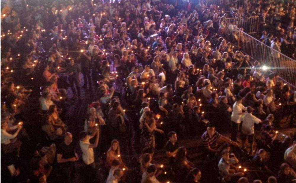 Janucá: Jabad Lubavitch realizó el encendido de velas