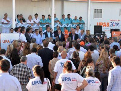 Scioli inaugur� una nueva Unidad de Pronta Atenci�n