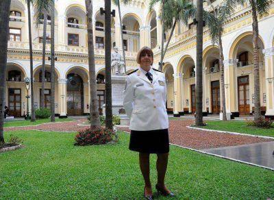La Polic�a Federal tiene nueva c�pula: Mabel Franco fue ratificada