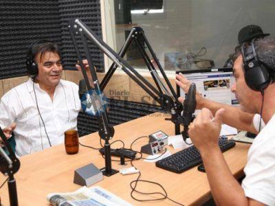 Gutiérrez habló de todo en FM Sur