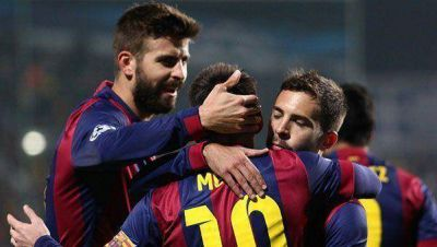 Barcelona quiere despedir un a�o sin t�tulos con un triunfo