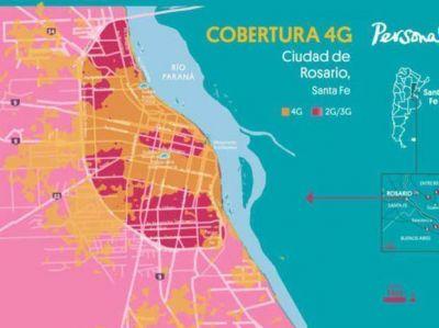 La empresa Personal lanza su nueva red de tecnología 4G en Rosario